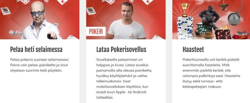 pokerihuone kampanjat