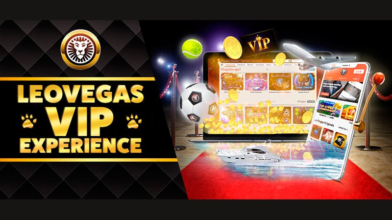 Leo Vegasilta vip experience leovegas