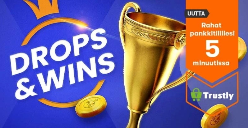 käteisjahti Drops & Wins