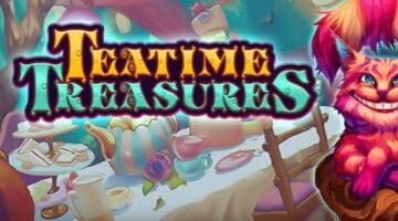 teatime treasures kolikkopeli
