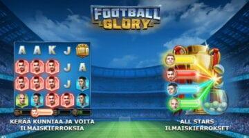 Football Glory kolikkopeli arvostelu