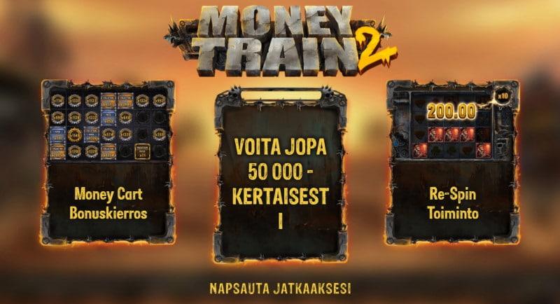 money train 2 arvostelu kasinopeli kolikkopeli