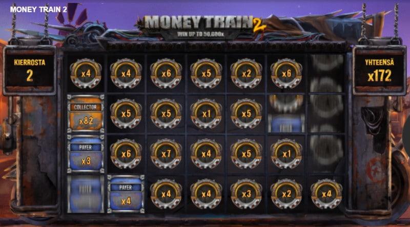 moneytrain bonuspeli