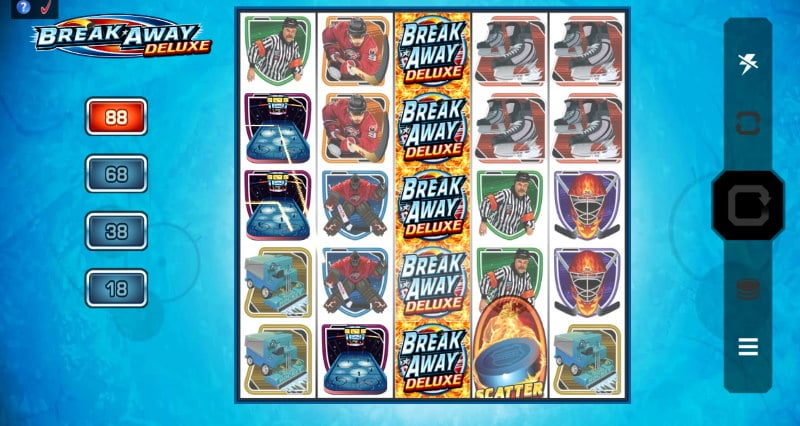 Break Away Deluxe kolikkopeli arvostelu